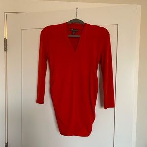 Pea in the Pod red fitted blouse